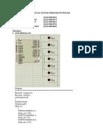 Tugas Sistem Mikrokontroler
