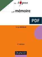 La mémoire 2e édition - Dunod.pdf