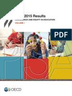 PISA2015. volumen 1 en inglés