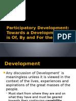 Participatory Development (1)