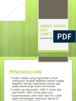 Indeks DMF-T Dan Def-t