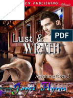 Joyee Flynn - Serie Anything Goes 03 - Lust and Wrath
