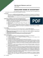 At - 002 Professional Regulatory Board of Accountancy