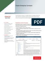 Oracle Enterprise Contracts Ds