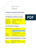 VxWorks Commands