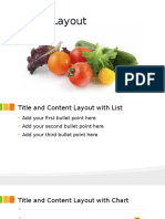 Fresh Food Template for PowerPoint