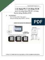 Hướng dẫn sử dụng PLC LS dòng XGB Giám sát đồng hồ đa năng hãng SELEC sử dụng truyền thông Modbus RTU.pdf