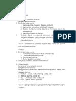 parameter uji non spesifik