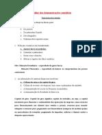 Exerc+¡cios 1 - Balança Patrimonial e DRE