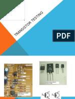 165431971 Transistor Testing