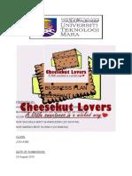 CHEESEKUT LOVERS - UiTM Segamat.docx