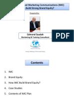 CIM e Brand Equity