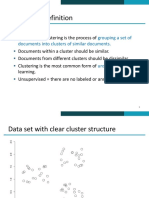Lecture 17 Clustering