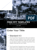 Building in Process Industry PPT Templates Standard