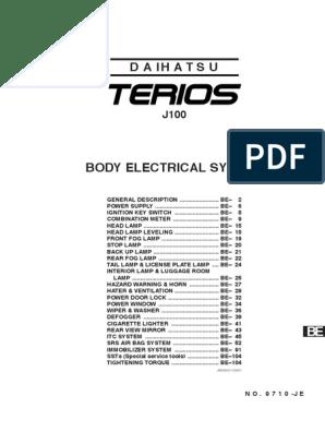 terios workshop manual electrical connector color daihatsu terios 2004 bougie daihatsu terios 2004 wiring diagram #11