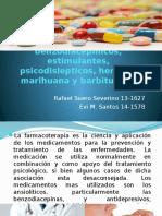Ansioliticos, Benzodiacepinicos, Estimulantes, Psicodislepticos, (1)