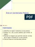 Areas de Regiones en Coordenadas en Polares
