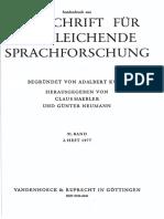 Normier - Idg. Konsonantismus, germ. 'Lautverschiebung', und Vernersches Gesetz (1977)