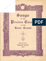 Songs of the Pristine Church of the Rose Cross