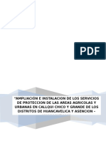 1. Memoria de Modelamiento Hidrologico