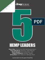 5 Hemp Industry Leaders