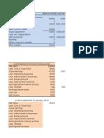 Excel Project Entrepreneur