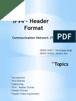 IPv4 – Header