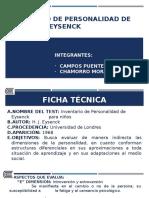 Inventario de Personalidad de Eysenck y Eysenck