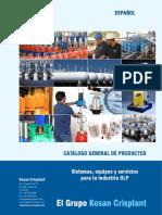 General Product Catalogue SPA WEB