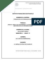 El Papel Que Desempeña El Sistema Financiero Mexicano en Las Organizaciones