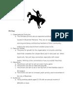 PR Plan Drivers