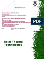 Unit 2 - Solar Thermal Energy.