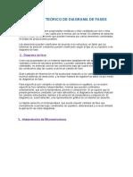 Fundamento Teórico de Diagrama de Fases