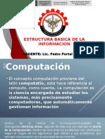 Clase 02 - Estructura Basica de La Informacion