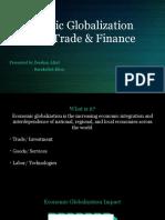 Economic Globalization -Trade n Finance
