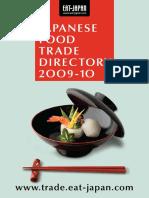 JapaneseFoodTradeDirectory2009-10