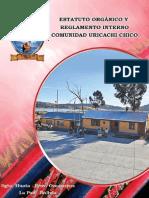 Estatuto Orgánico y Reglamento Interno Comunidad Uricachi Chico