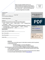 ADNEP 8th Joint Annual Convention of PADE and ADNEP Registration Paper