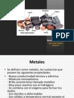 Presentacion N° 3 Afinidad de los Metales por el Oxigeno, el Asufre y el Cloro