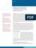 Scalable, Reliable Recovery Across SharePoint Server Farms