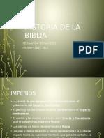 Historia de La Biblia -Imperios