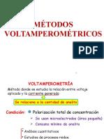 Métodos Voltamperométricos