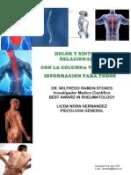 Dr Wilfredo Stokes Ciatica y Sintomas relacionados con la Columna  Vertebral Informacion para Todos Guatemala 2,010