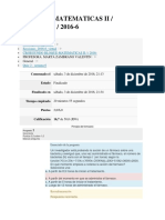 Examen Matematicas.diciembre 2016 - Politecnico