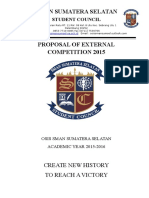 Proposal of External Competition