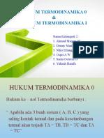 Hukum Termodinamika 0