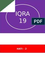 IQRA -19