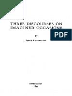 Kierkegaard, S - Three Discourses on Imagined Occasions (Augsburg, 1941)