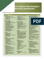 Coberturas Detalhadas Porto Seguros Odonto