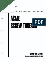 ASMEB I.5-1997